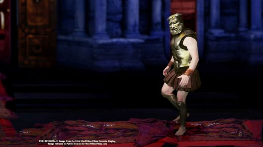 Agamemnon walks on the Red Carpet