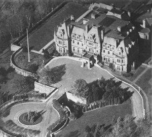 Chorley Park from the air circa 1930